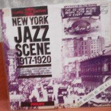 Discos de vinilo: LP ARGENTINO DE ARTISTAS VARIOS NEW YORK JAZZ SCENE 1917-1920 AÑO 1966. Lote 27524599
