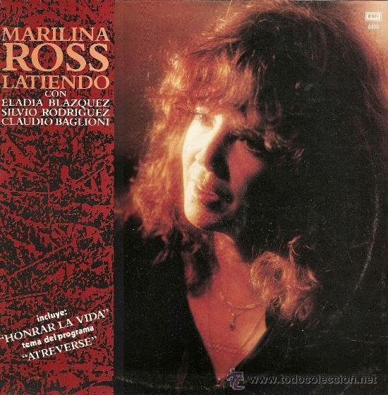 MAXI SINGLE DE MARILINA ROSS AÑO 1990 EDICIÓN ARGENTINA (Música - Discos de Vinilo - Maxi Singles - Grupos y Solistas de latinoamérica)