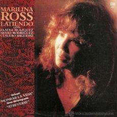 Discos de vinilo: MAXI SINGLE DE MARILINA ROSS AÑO 1990 EDICIÓN ARGENTINA. Lote 27565020