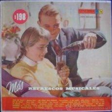 Discos de vinilo: LP DE ARTISTAS VARIOS MÁS REFRESCOS MUSICALES AÑO 1958. Lote 27565031