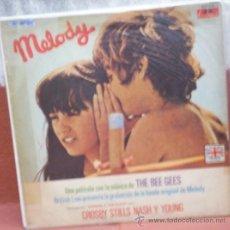 Discos de vinilo: LP BANDA DE SONIDO DE LA PELÍCULA MELODY EDICIÓN ARGENTINA AÑO 1971. Lote 29059581