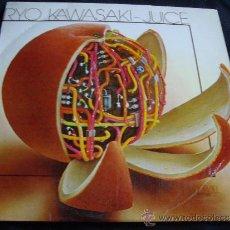 Discos de vinilo: RYO KAWASAKI-JUICE-JAZZ PROGRESIVO CON TOQUE ANDALUZ. Lote 293277648