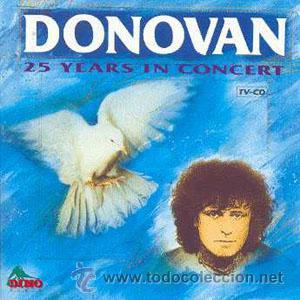 LP DONOVAN 25 YEARS IN CONCERT LIVE VINILO (Música - Discos - LP Vinilo - Pop - Rock Extranjero de los 50 y 60)