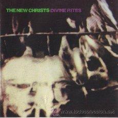 Discos de vinilo: THE NEW CHRISTS - DIVINE RITES - CITADEL 1987 - I SWEAR - PRACTICAMENTE NUEVO. Lote 31908815