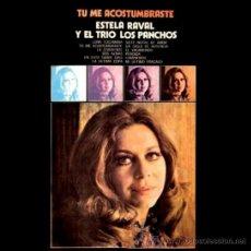 Discos de vinilo: LP ARGENTINO DE ESTELA RAVAL Y EL TRÍO LOS PANCHOS AÑO 1973. Lote 26439084