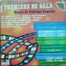 Discos de vinilo: LP DE ARTISTAS VARIOS PREMIERE DE GALA AÑO 1970. Lote 26459567
