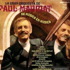 Discos de vinilo: LP DE LA GRAN ORQUESTA DE PAUL MAURIAT AÑO 1969 EDICIÓN ARGENTINA. Lote 26469152