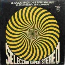 Discos de vinilo: LP DE LA GRAN ORQUESTA DE PAUL MAURIAT AÑO 1969 EN ESTEREO EDICIÓN ARGENTINA. Lote 26469154