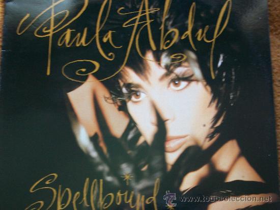 PAULA ABDUL,SPELLBOUND EDICION ESPAÑOLA DEL 91 (Música - Discos - LP Vinilo - Pop - Rock Internacional de los 90 a la actualidad)