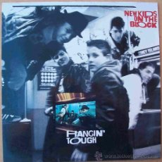 Discos de vinilo: DISCOS (NEW KIDS ON THE BLOCK) HANGIN` TOUGH. Lote 31916487