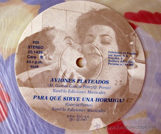 Discos de vinilo: EL ULTIMO DE LA FILA - MX- EL LOCO DE LA CALLE - EDICION NUMERADA PROMO VINILO TRANSPARENTE - 1987 - Foto 4 - 31920107