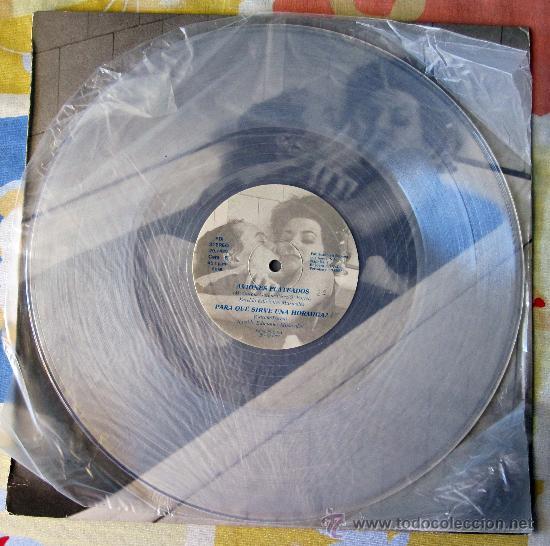 Discos de vinilo: EL ULTIMO DE LA FILA - MX- EL LOCO DE LA CALLE - EDICION NUMERADA PROMO VINILO TRANSPARENTE - 1987 - Foto 5 - 31920107