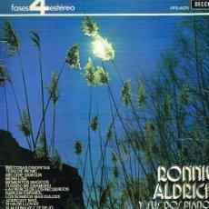 Discos de vinilo: RONNIE ALDRICH - EL SONIDO ESPECIAL DE RONNIE ALDRICH - LP 1971. Lote 31923463