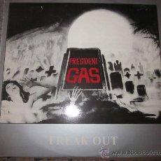 Discos de vinilo: PRESIDENT GAS - FREAK OUT - ASPING RECORDS -AÑO 1988-PUNK POP.. Lote 31926562