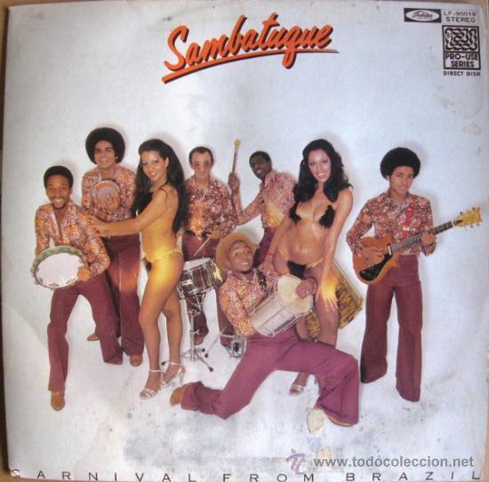 SAMBATUQUE – CARNIVAL FROM BRAZIL - LP TOSHIBA RECORDS 1978 JAPAN BPY (Música - Discos - LP Vinilo - Étnicas y Músicas del Mundo)