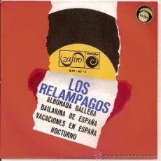 Discos de vinilo: LOS RELAMPAGOS-EP ALBORADA GALLEGA +3. Lote 31932985