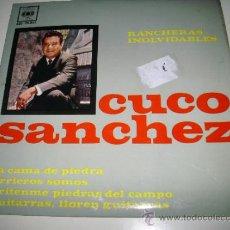 Discos de vinilo: CUCO SANCHEZ RANCHERAS INOLVIDABLES (1963 CBS ESPAÑA) . Lote 32017969