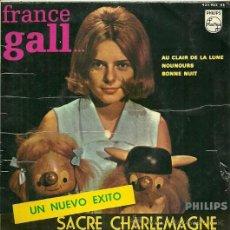 Discos de vinilo: FRANCE GALL EP SELLO PHILIPS AÑO 1966 EDICCIÓN ESPAÑOLA. Lote 31934913