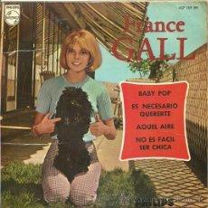 Discos de vinilo: FRANCE GALL EP SELLO PHILIPS AÑO 1966 EDICCIÓN ESPAÑOLA. Lote 31934932