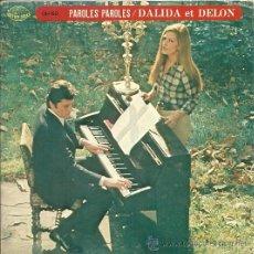 Discos de vinilo: DALIDA Y ALAIN DELON EP PORTADA DOBLE SELLO SEVEN SEAS AÑO 1973 EDICCIÓN JAPONESA. Lote 31935021