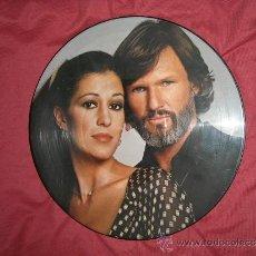 Discos de vinilo: KRIS KRISTOFERSON RITA COOLIDGE PICTURE DISC LP A&M PR-4690 USA 1979-. Lote 31935710