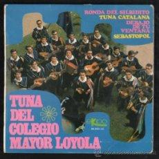 Discos de vinilo: SINGLE TUNA DEL COLEGIO MAYOR LOYOLA, EKIPO 66.200 UC. Lote 31936068