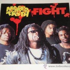 Discos de vinilo: NAKED TRUTH / FIGHT - LP MADE IN SPAIN 1993 - TOTALMENTE NUEVO A ESTRENAR!!! . Lote 31939703
