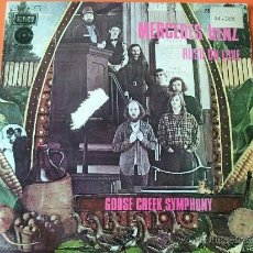 Discos de vinilo: GOOSE CREEK SYMPHONY - MERCEDES BENZ SINGLE AÑO 1972. Lote 31945112