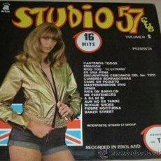 Discos de vinilo: LP STUDIO 57 CLUB VOLUMEN 2 AÑO 1978. Lote 27101449