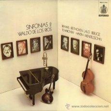 Discos de vinilo: LP ARGENTINO DE WALDO DE LOS RÍOS AÑO 1974. Lote 27101454