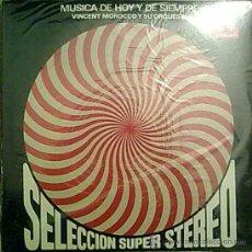 Discos de vinilo: LP DE VINCENT MOROCCO Y SU ORQUESTA AÑO 1969 EDICIÓN ARGENTINA. Lote 27201539