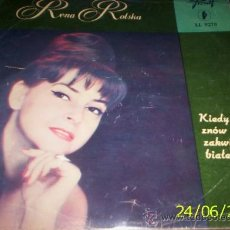 Discos de vinilo: LP POLACO DE RENA ROLSKA AÑO 1966. Lote 27545008