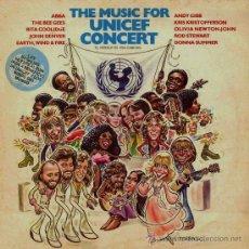Discos de vinilo: LP DE ARTISTAS VARIOS THE MUSIC FOR UNICEF CONCERT EDICIÓN ARGENTINA AÑO 1979. Lote 27545012