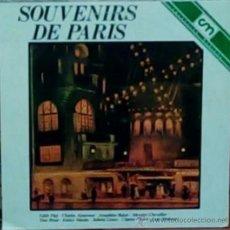 Discos de vinilo: LP ARGENTINO DE ARTISTAS VARIOS SOUVENIRS DE PARÍS AÑO 1981. Lote 27635570