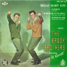 Discos de vinilo - THE BROOK BROTHERS EP SELLO HISPAVOX AÑO 1961 EDICCIÓN ESPAÑOLA - 31949098