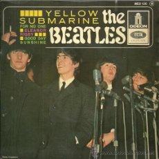 Discos de vinilo: LOS BEATLES EP SELLO EMI-ODEON EDICCIÓN FRANCESA. Lote 31949160