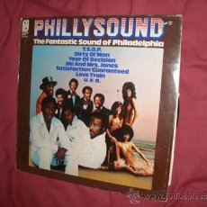 Discos de vinilo: PHILLY SOUND THE FANTASTIC SOUND OF PHILADELPHIA LP1974 HOL VER FOTO ADICIONAL. Lote 31952044