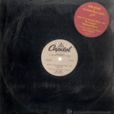 Discos de vinilo: BOB SEGER - TRYIN TO LIVE MY LIFE WITHOUT YOU + 2 (MAXI) PROMO AMERICANO DE 1981 - VG+/VG++. Lote 31957310