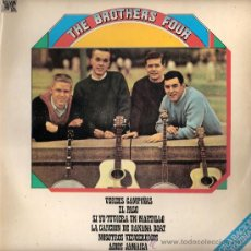 Discos de vinilo: THE BROTHERS FOUR - THE BROTHERS FOUR (LP) CAUDAL 1978 - VG++/VG++. Lote 31959917