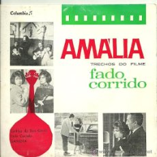 Discos de vinilo: AMALIA RODRIGUES EP SELLO COLUMBIA EDICCIÓN PORTUGUESA. . Lote 31962880
