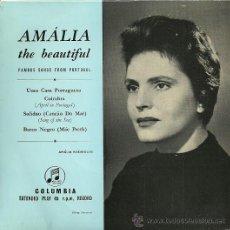 Discos de vinilo: AMALIA RODRIGUES EP SELLO COLUMBIA EDICCIÓN HOLANDESA. Lote 31962911