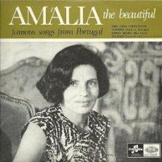 Discos de vinilo: AMALIA RODRIGUES EP SELLO EMI-COLUMBIA EDICCIÓN PORTUGUESA. Lote 31962917