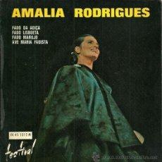 Discos de vinilo: AMALIA RODRIGUES EP SELLO FESTIVAL EDICCIÓN FRANCESA. Lote 31962953
