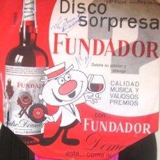 Discos de vinilo: ALBERTO CORTEZ - DISCO SORPRESA FUNDADOR, 1968. Lote 31972351