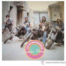 Discos de vinilo: BOMBARDEROS - CUATRO PERROS - RESONANCE - JAIME GONZALO RUTA 66 - MUY NUEVO CON ENCARTE. Lote 31996691