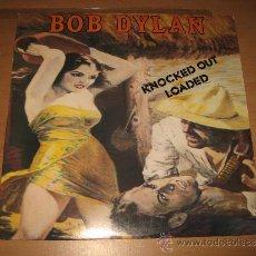 Discos de vinilo: LP BOB DYLAN KNOCKED OUT LOADED - COLUMBIA C 40439 USA 1986 CON ENCARTE. Lote 31997504