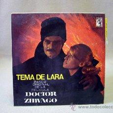 Discos de vinilo: DISCO, SINGLE, VINILO, TEMA DE LARA, BANDA ORIGINAL DE LA PELICULA, DOCTOR ZHIVAGO, MGM, 63 537. Lote 32005678