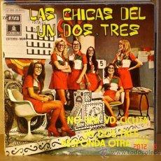Discos de vinilo - Las Chicas del Un, Dos, Tres - No sea usted Cicuta / Un, dos, tres... responda otra vez - 1972 - 32008538