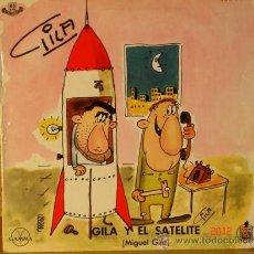 Discos de vinilo: GILA - GILA Y EL SATELITE / GILA EN EL TELEFONO PUBLICO - HISPAVOX HM 047-03 - 1960. Lote 32008942
