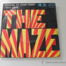 Discos de vinilo: THE MAZE - CHAINED TO YOUR HEART / I GOT LOVE 1968. Lote 32010033